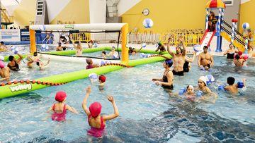 Des nombreuses animations sont proposées dans les piscines de l'Aqua Pôle du Grand Nancy