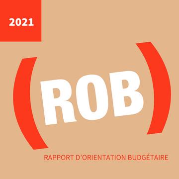rapport d'orientation budgétaire 2021