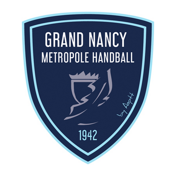 Logo Grand Nancy Métropole Handball