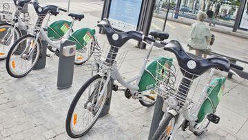Vélos en location courte durée