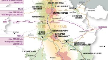 Pôle Métropolitain du Sillon Lorrain