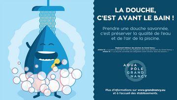 Nouvelle campagne hygiène déployée dans les piscines de l'Aqua Pôle
