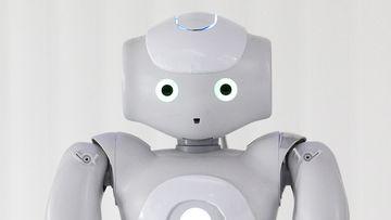 Robot Minoïde conçu par Mines Nancy, en lien avec le LORIA