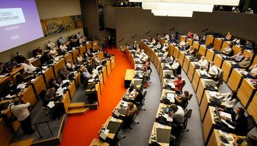 Salle du Conseil de la Métropole
