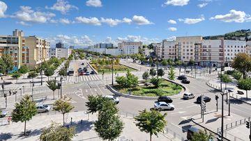 Place du Vélodrome à Vandoeuvre-lès-Nancy