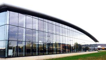 Le gymnase Julien Absalon, inauguré en 2011 à Heillecourt
