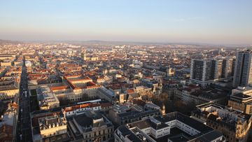 vue panoramique de la Métropole depuis la tour Thiers