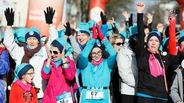 Une course-marche solidaire de 4 km est organisée chaque année en mars